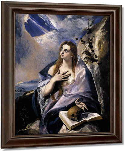 Mary Magdalen In Penitence1 By El Greco