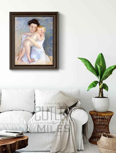 Maternal Tenderness 2 By Mary Cassatt