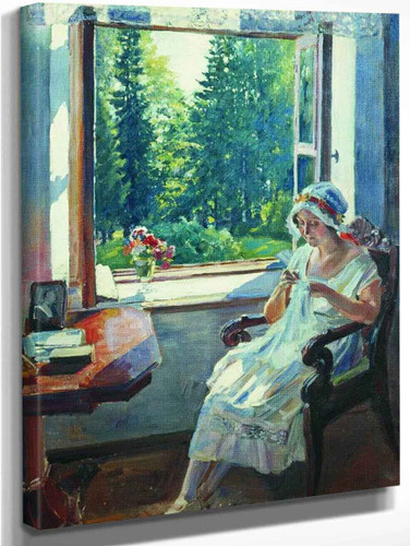 Morning By Sergei Arsenevich Vinogradov Russian 1869 1938