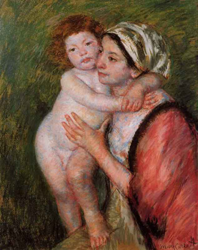 Mother And Child33 By Mary Cassatt