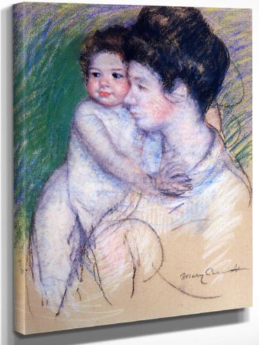 Motherhood3 By Mary Cassatt