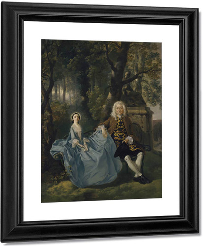Mr And Mrs Carter By Thomas Gainsborough