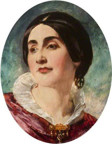 Mrs Caroline Norton, Lady Stirling Maxwell By William Etty By William Etty