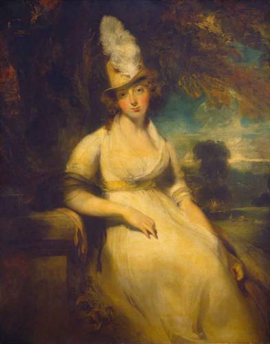 Mrs Robert Blencowe By Sir Thomas Lawrence