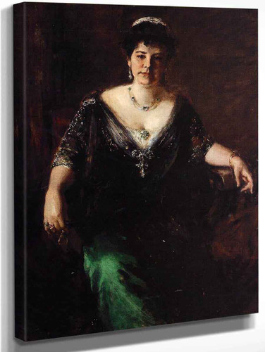 Mrs. William Merritt Chase By William Merritt Chase