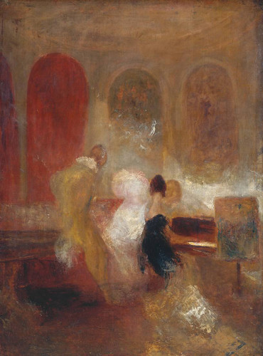 Music Party, East Cowes Castle By Joseph Mallord William Turner
