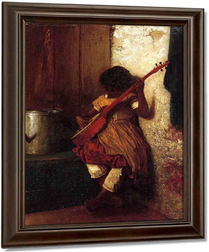 Musical Instinct By Eastman Johnson