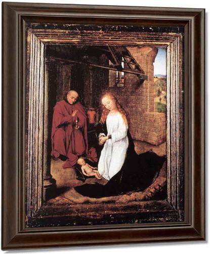 Nativity By Hans Memling