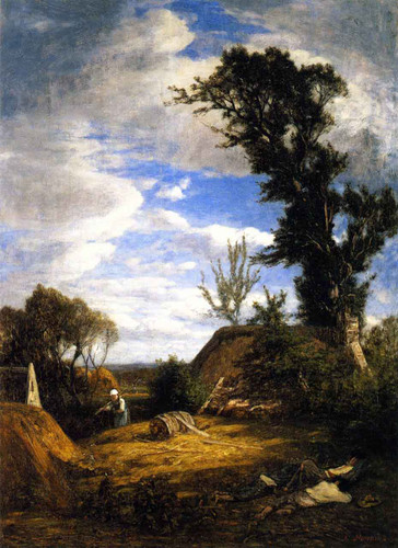 Near Quimper By Eugene Louis Boudin