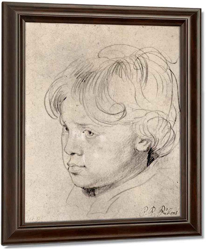 Nicolas Rubens 2 By Peter Paul Rubens
