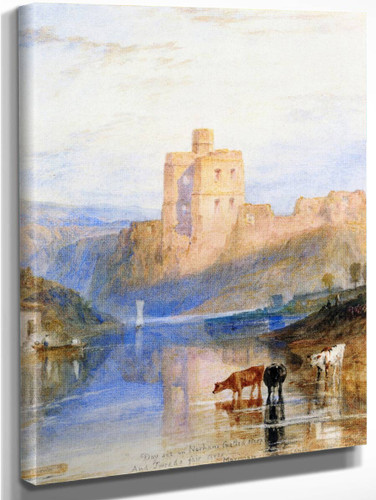 Norham Castle On The Tweed By Joseph Mallord William Turner
