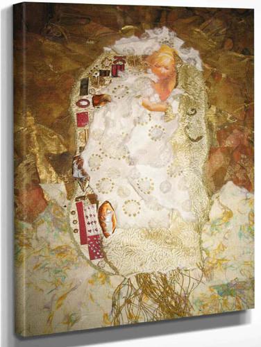 Ode To Klimt By Gustav Klimt