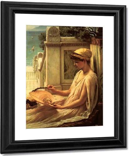 On The Terrace By Sir Edward John Poynter