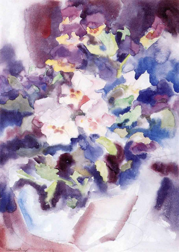 Pansies1 By Charles Demuth By Charles Demuth