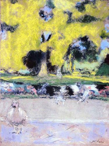Park By Edouard Vuillard