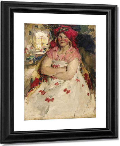 Peasant Girl2 By Abram Efimovich Arkhipov
