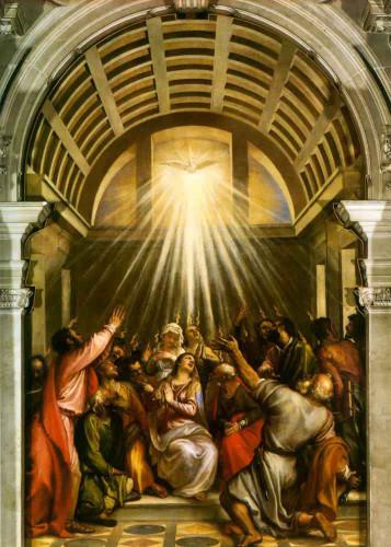 Pentecost By Titian