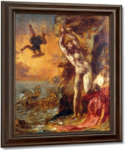 Perseus And Andromeda By Eugene Delacroix