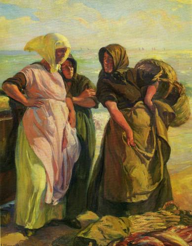 Pescadoras By Jose Mongrell Torrent