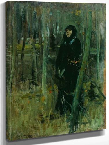 Picking Berries By Abram Efimovich Arkhipov
