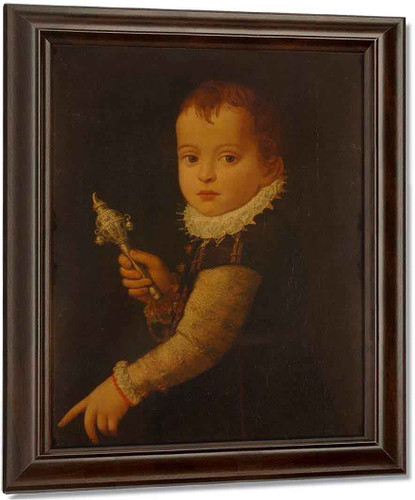 Portrait Of A Boy By Paolo Veronese
