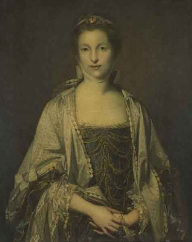 Portrait Of A Lady1 By Sir Joshua Reynolds