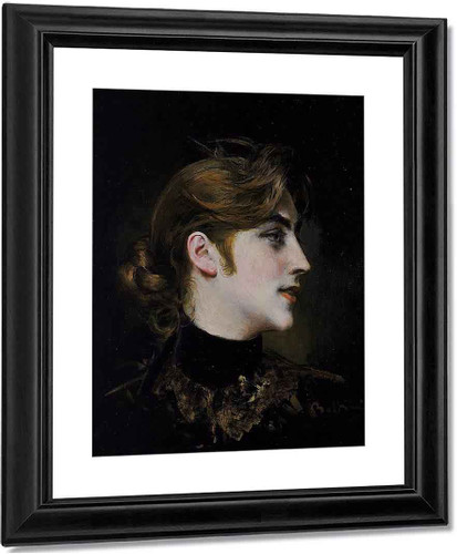 Portrait Of A Lady4 By Giovanni Boldini