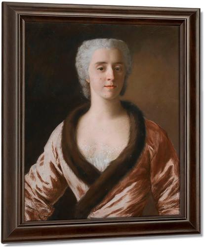 Portrait Of A Lady By Jean Etienne Liotard