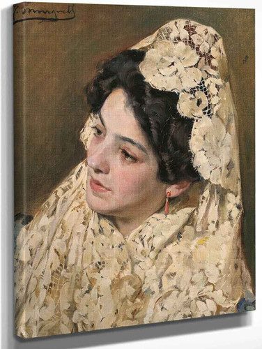 Portrait Of A Lady By Jose Mongrell Torrent