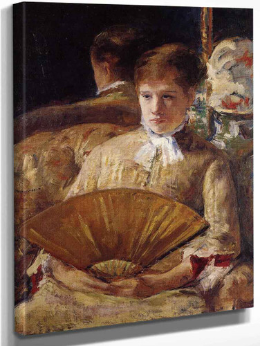 Portrait Of A Lady By Mary Cassatt