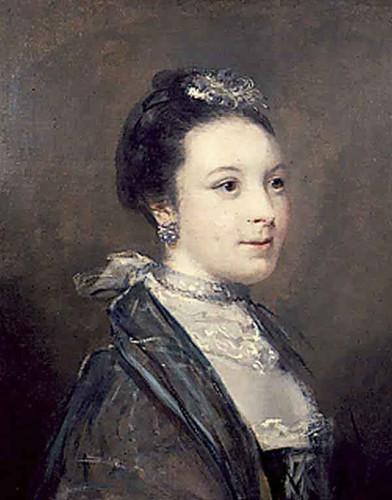 Portrait Of A Lady By Sir Joshua Reynolds