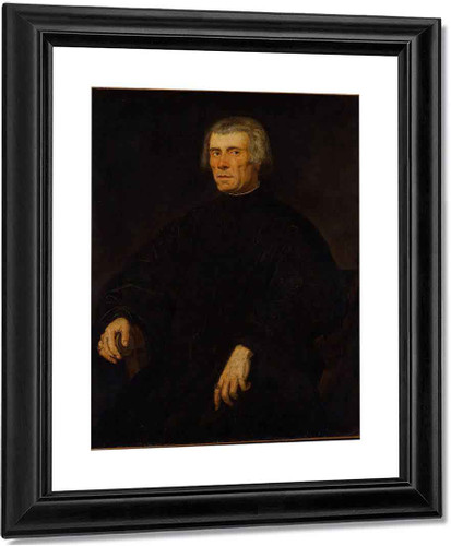 Portrait Of A Man 2 By Jacopo Tintoretto