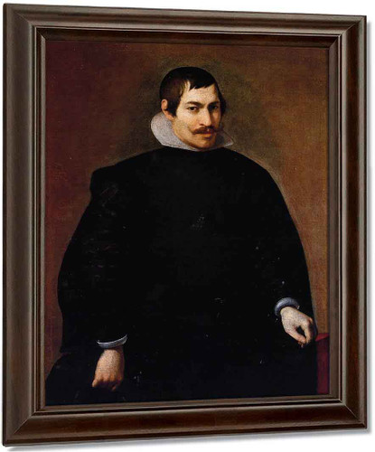 Portrait Of A Man1 By Diego Velazquez