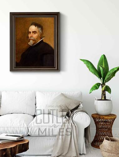 Portrait Of A Man3 By Diego Velazquez