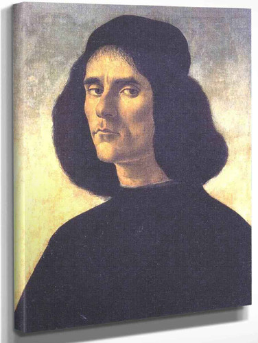 Portrait Of A Man By Sandro Botticelli