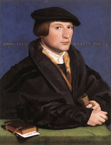 Portrait Of A Member Of The Wedigh Family 1 By Hans Holbein The Younger  By Hans Holbein The Younger