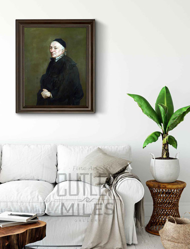 Portrait Of A Priest By Giacomo Ceruti