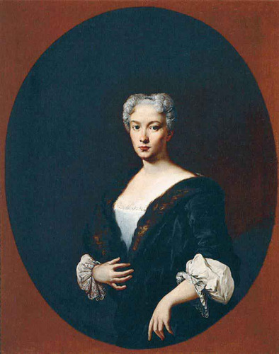 Portrait Of A Woman By Giacomo Ceruti