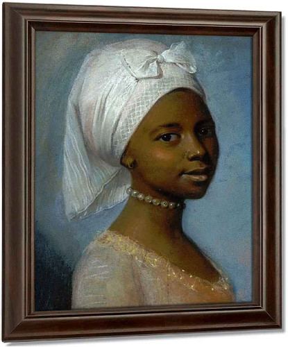 Portrait Of A Young Woman By Jean Etienne Liotard