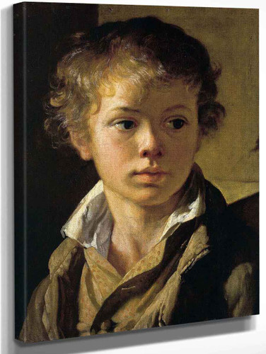 Portrait Of Arseny Tropinin By Vasily Tropinin