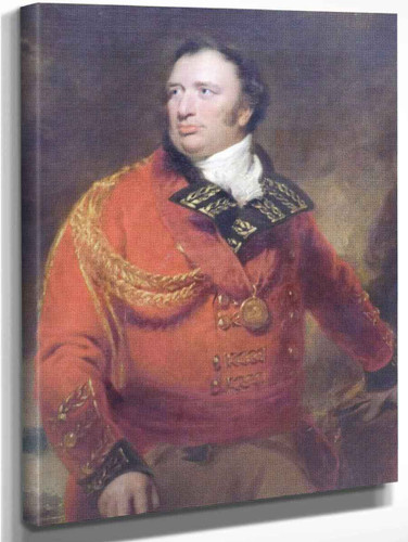 Portrait Of General Sir John Cuppage By Sir Thomas Lawrence