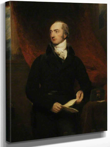 Portrait Of George Canning  By Sir Thomas Lawrence
