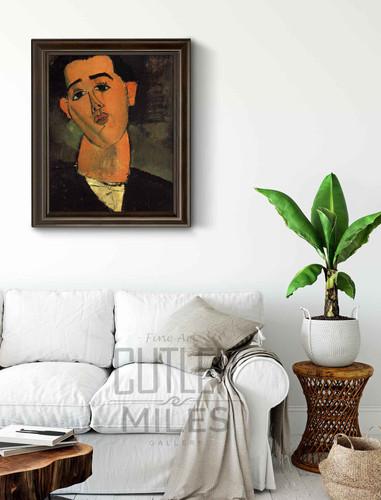 Portrait Of Juan Gris By Amedeo Modigliani