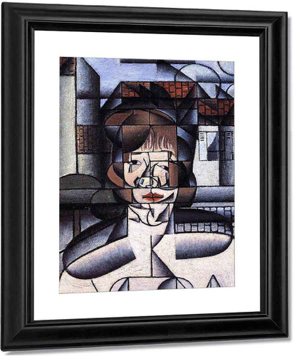 Portrait Of Madame Germaine Raynal By Juan Gris