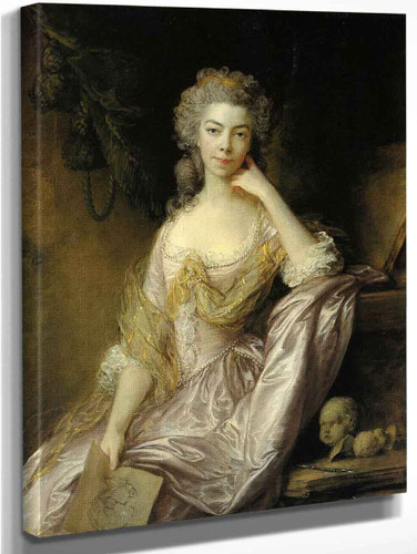 Portrait Of Mrs Drummond By Thomas Gainsborough