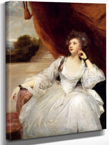 Portrait Of Mrs. Stanhope By Sir Joshua Reynolds