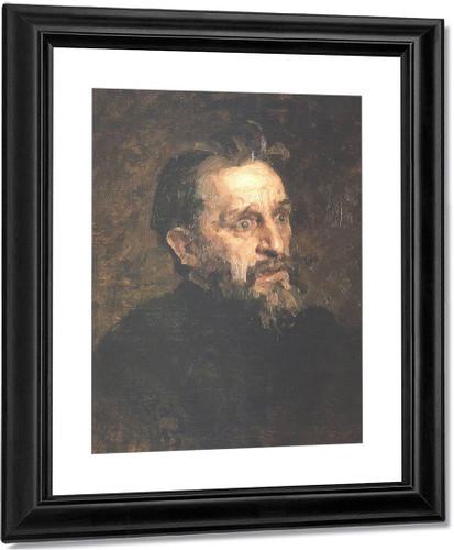 Portrait Of Painter Grigory Grigoryevich Myasoyedov. By Ilia Efimovich Repin