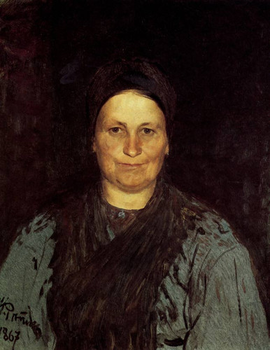 Portrait Of Tatyana Repina, The Artist's Mother. By Ilia Efimovich Repin