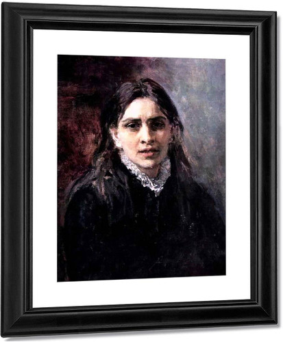 Portrait Of The Actress Pelageya Strepetova. By Ilia Efimovich Repin