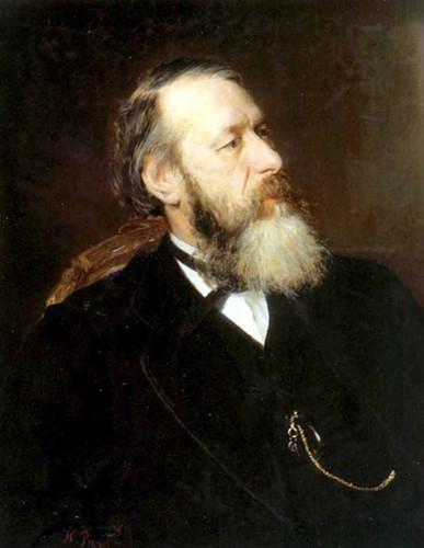 Portrait Of The Art Critic Vladimir Stasov. 11 By Ilia Efimovich Repin